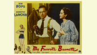 My Favorite Brunette, Bob Hope, classic film, movie