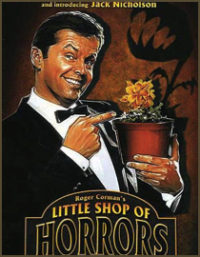 The Little Shop of Horrors, Jack Nicholson, classic movie